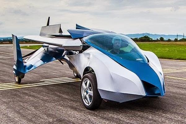 Uçan araba üretildi