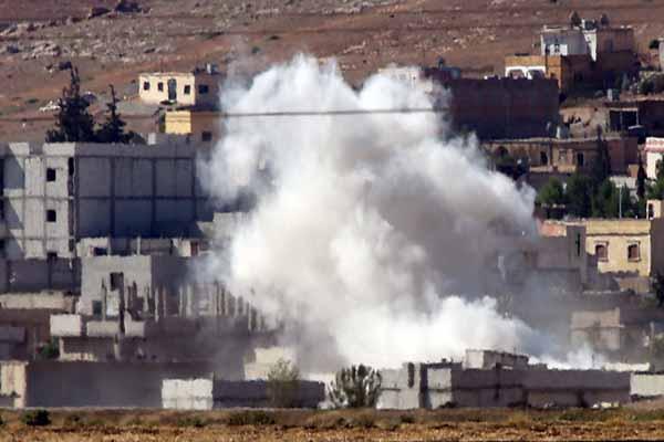 IŞİD, Kobani'yi kuşattı