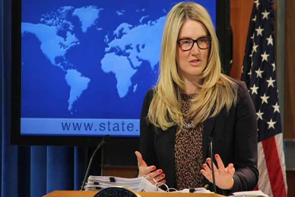 ABD Sözcüsü Marie Harf, Melih Gökçek'i sert dille eleştirdi