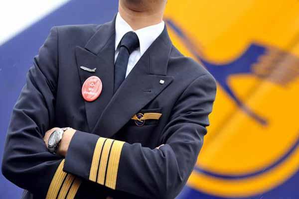 Lufthansa pilotları grevde