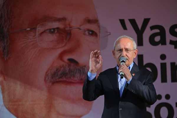 CHP lideri Kılıçdaroğlu, 1 Mayıs'ta kapalı olan Taksim için tepki gösterdi