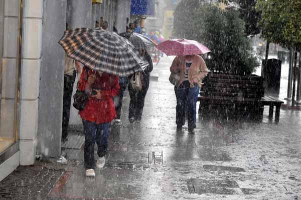 Türkiye geneli hava durumu, 31 Mayıs 2015