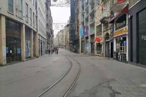 İstiklal Caddesi 1 Mayıs Günü boşaltıldı