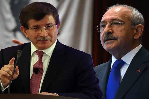 Davutoğlu ve Kılıçdaroğlu ilk kez aynı ortamda seçim beyannamelerini anlatacak