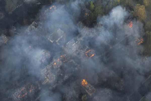 Çernobil'de son 20 yılın en büyük yangını çıktı