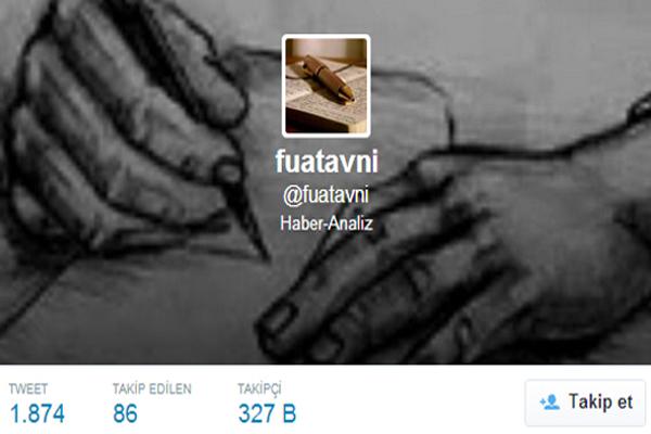 Fuat Avni, Mehmet Baransu'ya destek tweetleri attı