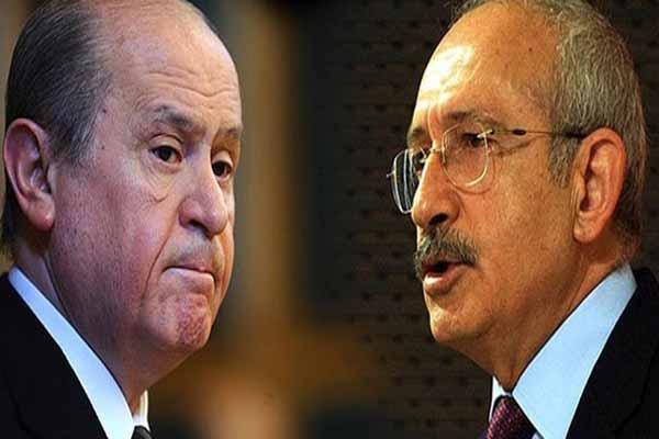 Devlet Bahçeli ve Kemal Kılıçdaroğlu o isim tarafından reddedildi