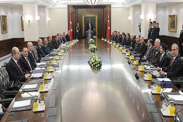 MGK toplantısı 30 Ekim'de yapılacak