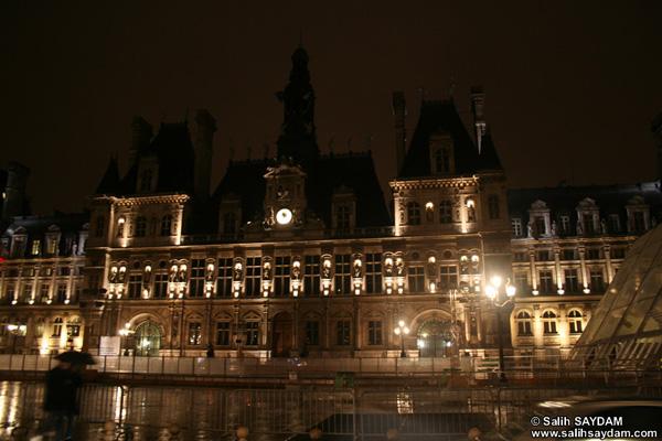 Paris Belediyesi'nin başı farelerle dertte