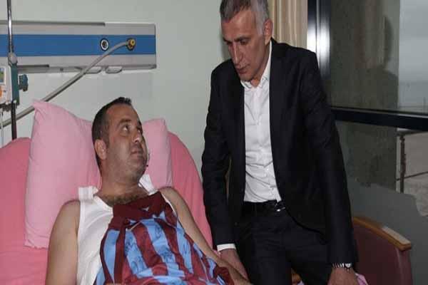 İbrahim Hacıosmanoğlu'ndan Ufuk Kıran'a sürpriz ziyaret