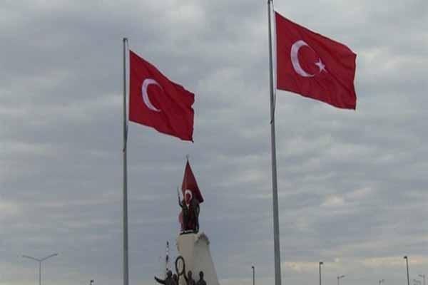 Tepki çeken yıldızsız Türk Bayrağı