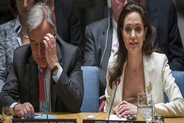 Angelina Jolie, Suriye'deki kriz nedeniyle BMGK'yı eleştirdi