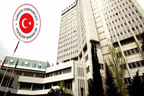 Dışişleri Bakanlığı'ndan KKTC'de yapılan seçim sonuçları hakkında açıklama