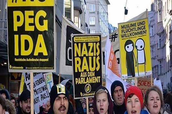 PEDIGA'nın Avusturya yürüyüşü engellendi