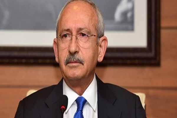 CHP lideri Kılıçdaroğlu protesto edildi