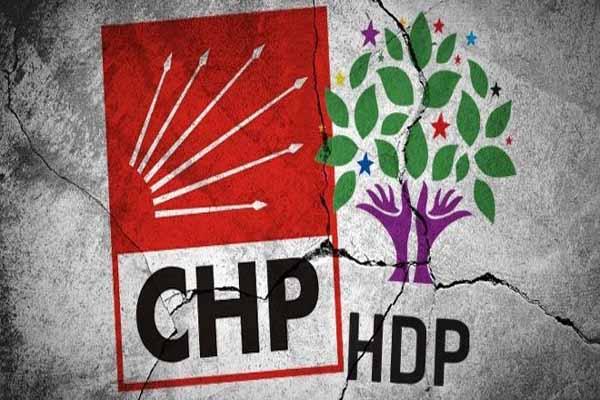 CHP'den yüzlerce kişi istifa ederek HDP'ye geçti