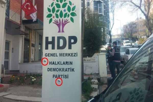 HDP'nin Ankara Genel Merkezine saldırı