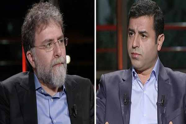 HDP Eş Genel Başkanı Selahattin Demirtaş'tan Ahmet Hakan'a önemli açıklamalar