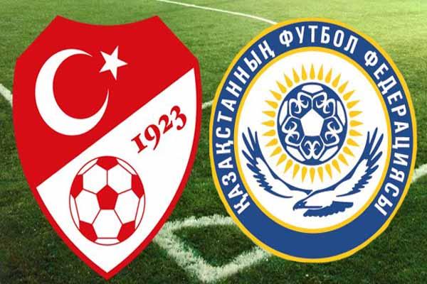 Türkiye Kazakistan maçının ilk 11'i