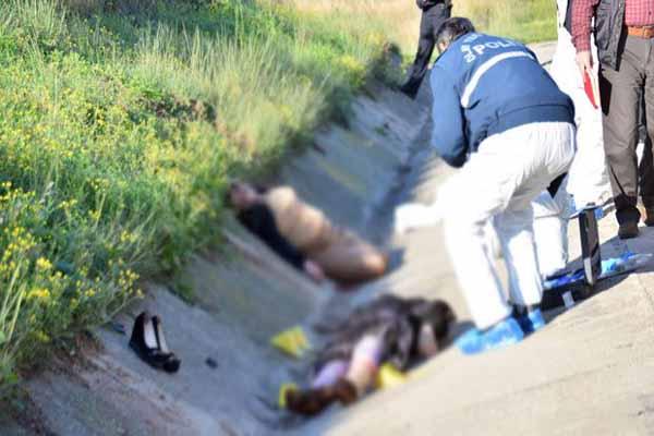 Adana'da silahla vurulmuş iki kadın cesedi bulundu