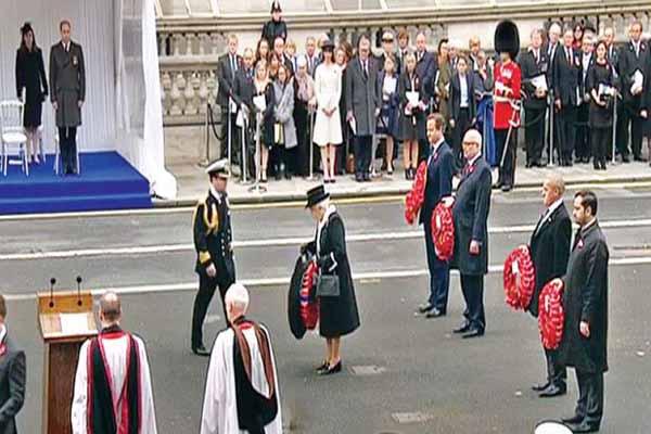 Londra'da Çanakkale Savaşı'nda hayatını kaybedenler özel bir törenle anıldı