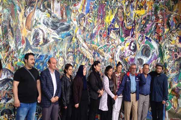 'Gezi' tablosu tamamlandı