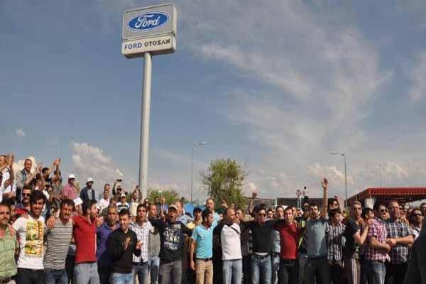 Ford Otosan Eskişehir'de işçi eylemleri sona erdi, üretim yeniden başladı