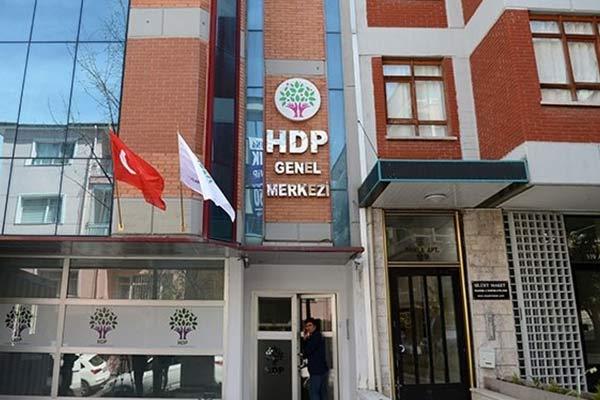 HDP Genel Merkezi'ne gece yarısı ateş açtılar