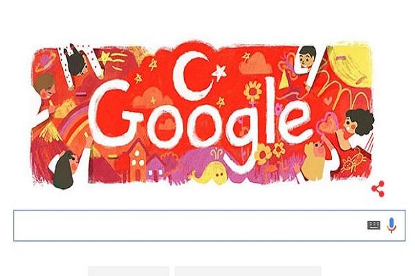 Google, 23 Nisan'ı doodle yaptı