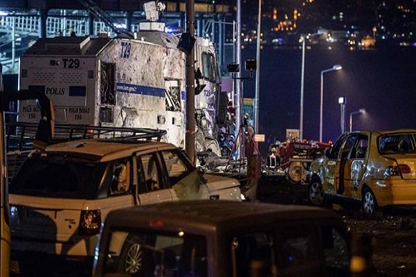 İstanbul'daki patlamada 400 kilo patlayıcı kullanılmış