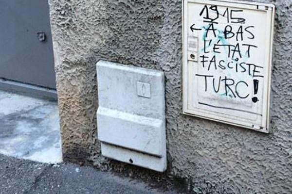 Lyon'da Türk radyosu Radyo MİT'e karşı ırkçı saldırı