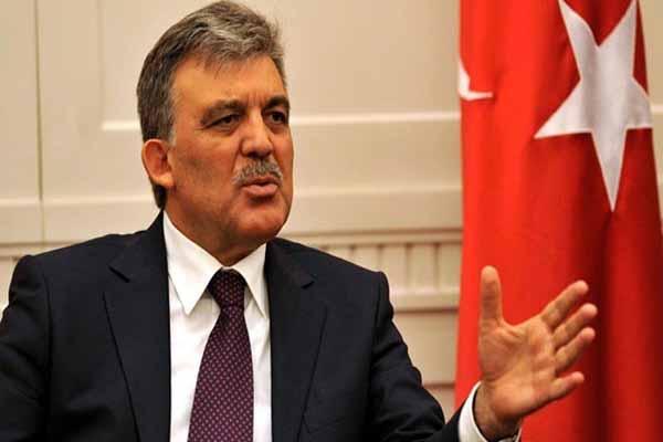 Abdullah Gül Ak Parti için şart sundu