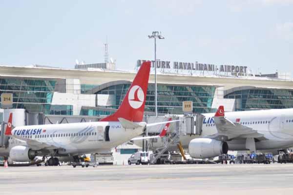 İstanbul Atatürk Havalimanı'nda dün rekor kırıldı