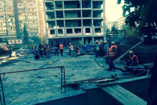 Rezidans inşaatında yine işçi ölümü