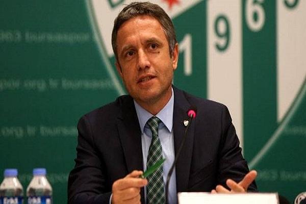 Bursasporlu teknik direktör Mutlu Topçu istifa etti