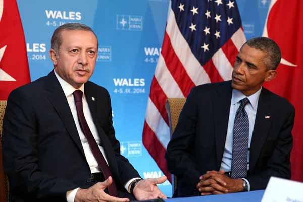 Obama, Cumhurbaşkanı Erdoğan'ı bilgilendirdi