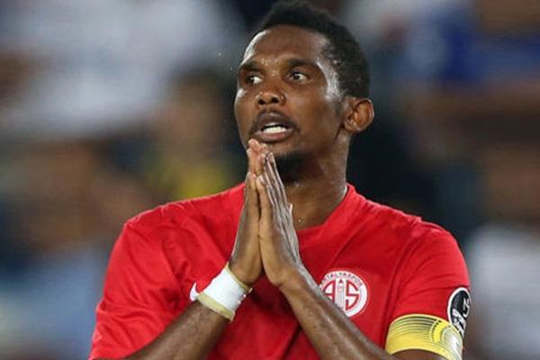 Samuel Eto'o Antalyaspor'da rekora imza atacak