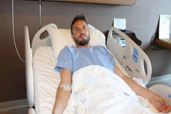 Futbolcu Tomas Sivok, ameliyat edildi
