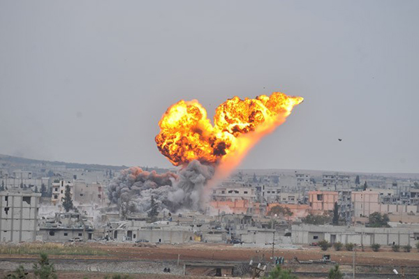 IŞİD'e son 3 günde 31 hava saldırısı