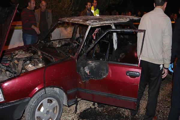 Mersin'de 4 yaşındaki çocuk arabanın içinde yanarak öldü