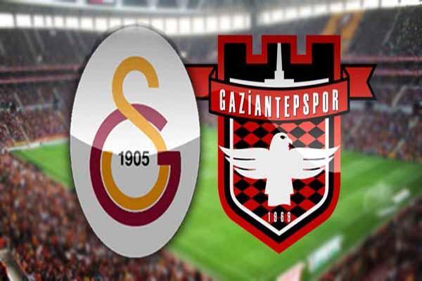 Galatasaray Gaziantepspor maçı canlı yayın bilgileri