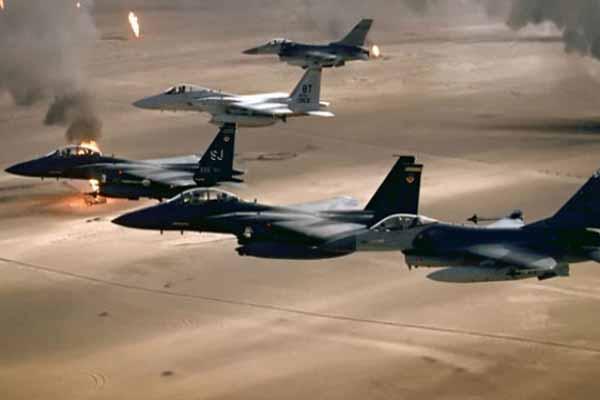 ABD, IŞİD'e hava saldırısı düzenledi, 17 militan öldürüldü