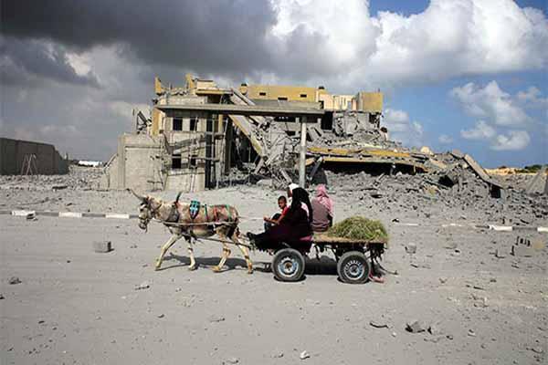 Gazze'de ateşkes kutlaması var