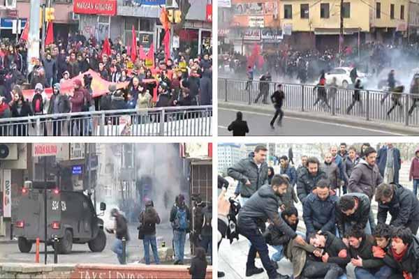 Okmeydanı'nda izinsiz gösterilerde 28 kişi gözaltına alındı