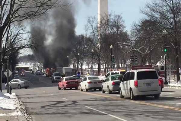 Beyaz Saray yakınlarında büyük patlama