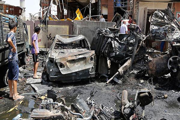 Bağdat'ta meydana gelen bombalı saldırılarda en az 15 kişi öldü