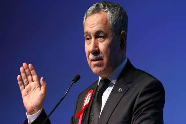Bülent Arınç Cumhurbaşkanı Erdoğan'ı eleştirdi