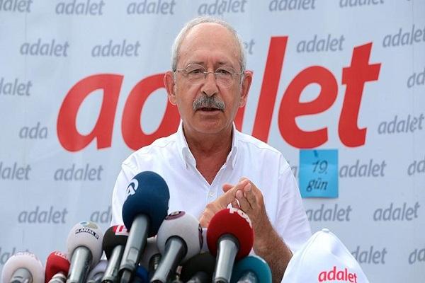 Adalet Yürüyüşü'nün on dokuzuncu gününde CHP liderinden önemli açıklamalar