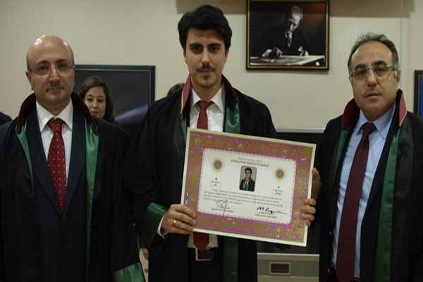 Genç avukat, Cumhurbaşkanı Erdoğan'a 'Faşist' dememiş
