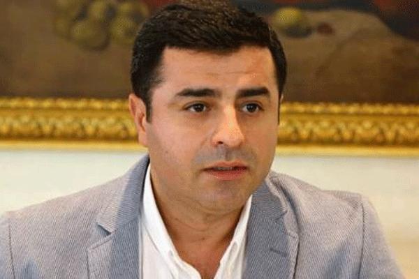 HDP Eşbaşkanı Selahattin Demirtaş o isimle kalmak istiyor